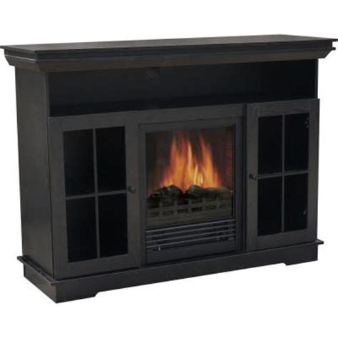 quality craft   electric fireplace media unit