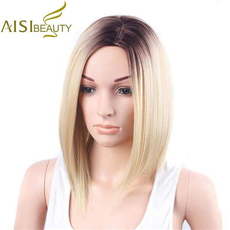 Aisi Beauty Short Wigs For Women 12 Synthetic Straight
