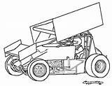 Sprint Race Drawing Coloring Template Stockcar Dirt Track Cars Racing Kleurplaat Clipart Drawings Sprintcar Kidz Nascar Midget Ultimatecarpage Getdrawings Speed sketch template