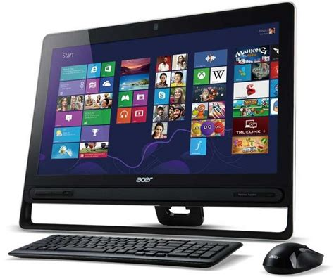ordinateur de bureau tactile ordinateur de bureau acer aspire z3 605 all in one tactile