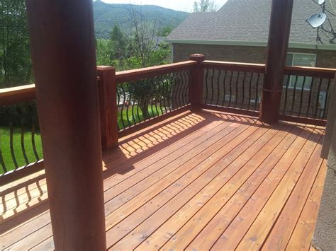 Sikkens Deck Stain Cedar by Park City Wood And Deck Stylists