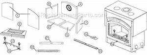 Napoleon Nz6000 Parts List And Diagram   Ereplacementparts Com