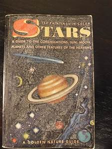 Vintage Book Stars A Guide To The Sun  Moon  Planets And