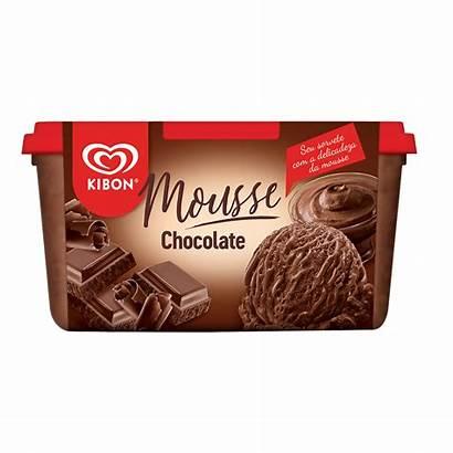 Mousse Chocolate Kibon Sorvete Viennetta Po Os
