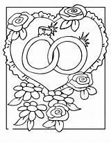 Coloring Pages Rings sketch template