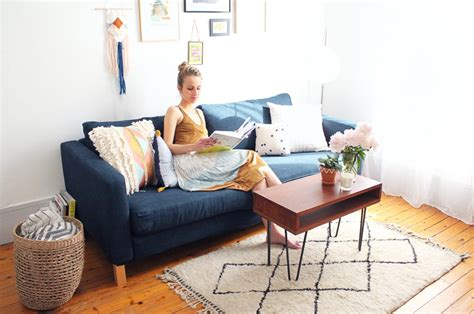 changer housse de canape comment customiser canapé ikéa partie 1 changer la