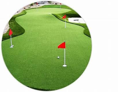 Putting Greens Custom Backyard Golf Practice Synlawn