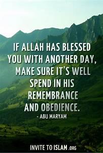 Blessing Islamic Quotes QuotesGram