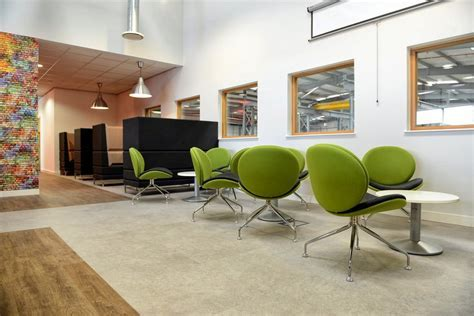 Break Out and Dining Space in Manchester With Industrial