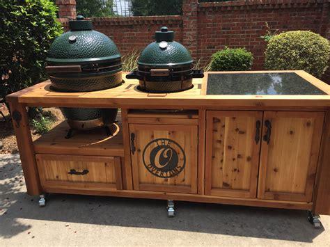 kamado grill plans dual grill for kamado joe primo or big green egg