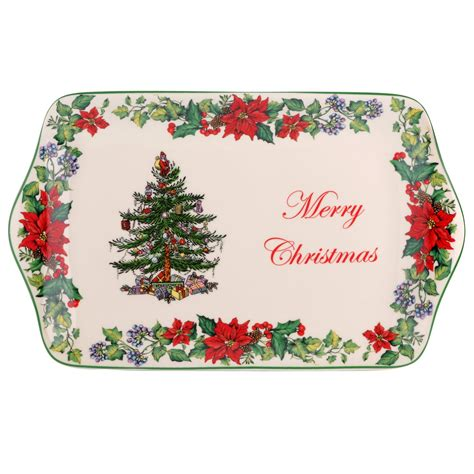 spode christmas tree 2016 dessert tray merry christmas 21