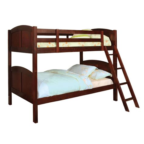Sears Headboards And Footboards by Venetian Worldwide Rexford Twin Over Twin Bunk Bed Cherry