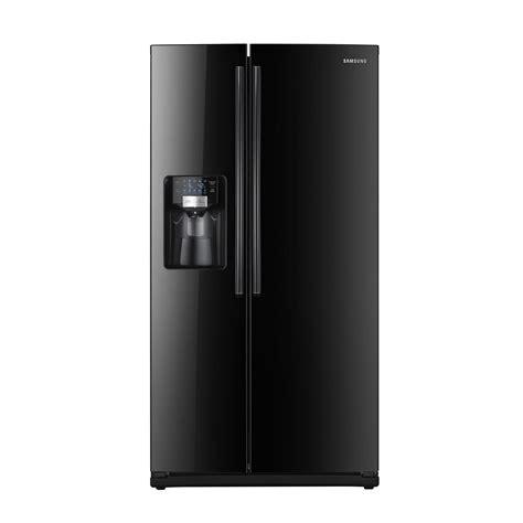 Samsung Rs267tdbp 255 Cu Ft Sidebyside Refrigeratorblack