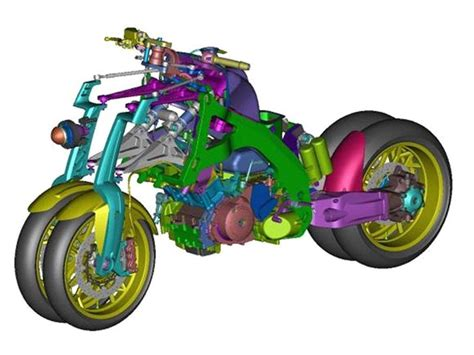 Yamaha Or2t Is A 4-wheeled Motorcycle From Another World