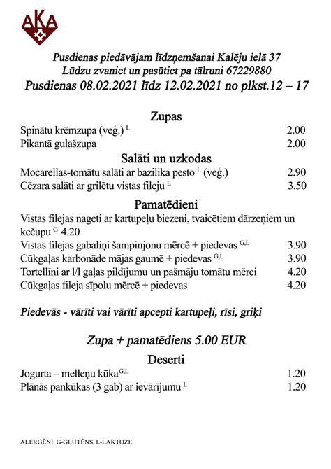 Biznesa pusdienas - AKA Latviešu Virtuve