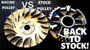 Racing Pulley Vs Stock Pulley
