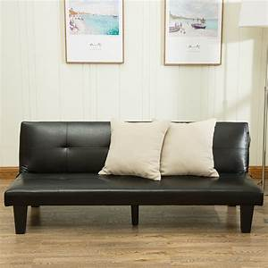 new futon sofa bed convertible couch living room loveseat With divan convertible