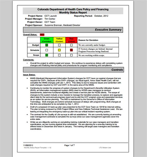 monthly report template monthly report template playbestonlinegames