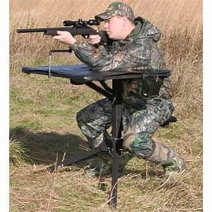 Big Game® Swivel Action Shooting Bench, Black - 137864 ...