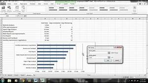 Excel Tutorial  How To Create A Gantt Chart With Microsoft