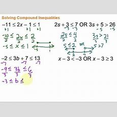 Solving & Graphing Compound Inequalities Youtube