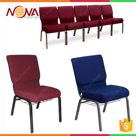 manufacturer durable iron pray church chair for sale