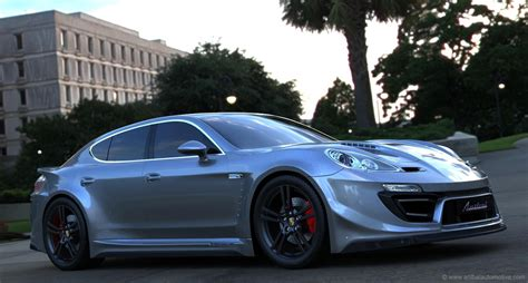 Porsche Panamera Tuning by Porsche Panamera Tuning Anibal Automotive 9 Avtovesti