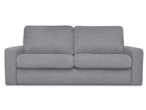 canap conforama gris canapé convertible 3 places en tissu samia coloris gris