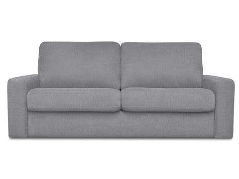 canapé gris conforama canapé convertible 3 places en tissu samia coloris gris