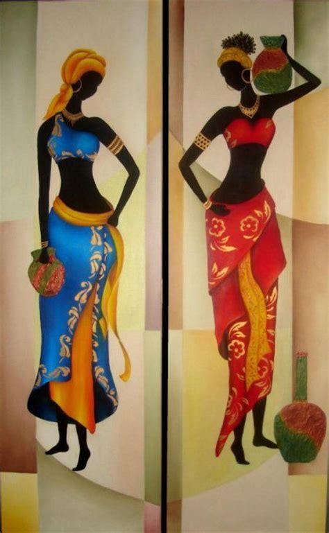 25 melhores ideias sobre pinturas africanas no arte africana arte negro e