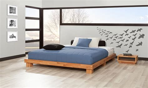 Platform Bed Without Headboard Designs — Groot Home