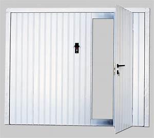 Porte de garage basculante débordante isolante(avec ou