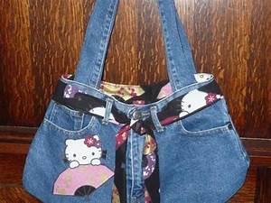 Que Faire Avec Des Vieux Jeans : comment fabriquer un sac avec un jeans us ~ Melissatoandfro.com Idées de Décoration