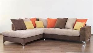 revgercom salon marron beige orange idee inspirante With lovely couleur pour mur salon 1 on met laccent sur la couleur de peinture pour salon