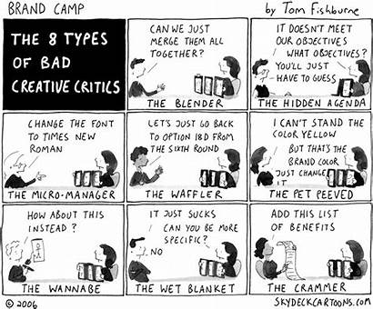 Brand Camp Dilbert Critic Move Cartoon Sandbox