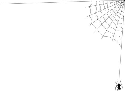free web page clipart corner spider web clipart free clipart images clipartix
