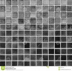 Black Mosaic Tile Stock Photo - Image: 49051042