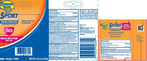 Banana Boat Sunscreen Oxybenzone by Dailymed Banana Boat Avobenzone Octocrylene