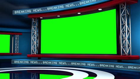Virtual Set Background This News Set Is The Perfect