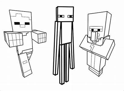 Minecraft Coloring Pages Template Templates Colouring Pdf