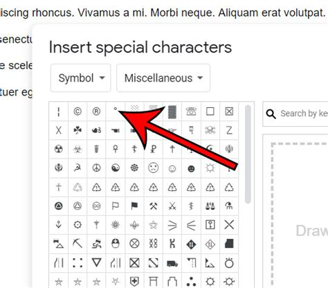 How to Insert a Degree Symbol in Google Docs - Solve Your Tech
