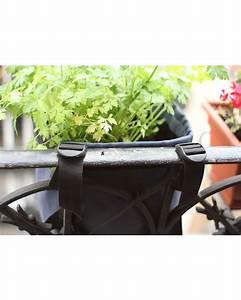 Pot A Accrocher : pot rond accrocher au balcon en batyline 10 litres bacsac ~ Teatrodelosmanantiales.com Idées de Décoration