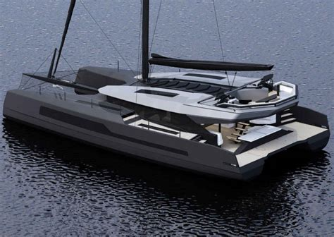 Catamaran Yacht Racing by A New Line Of High Performance Cruising Catamarans By