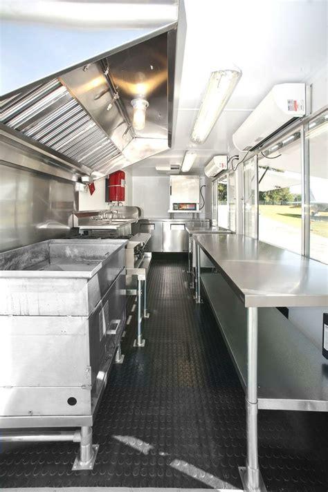 pin  dorota  caravan food truck interior food truck