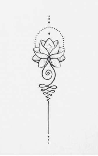 62+ Ideas Flowers Tattoo Mandala Lotus Design | Flower