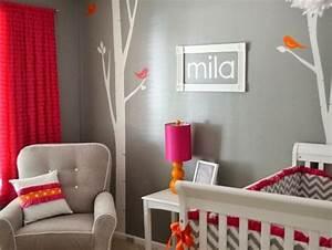 Chambre Bébé Fille Déco : deco chambre bebe garcon gris et bleu ~ Teatrodelosmanantiales.com Idées de Décoration