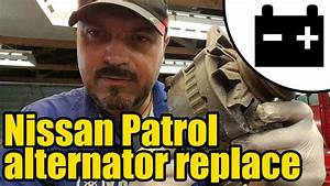 Nissan Patrol Charging Circuit Test  U0026 Alternator