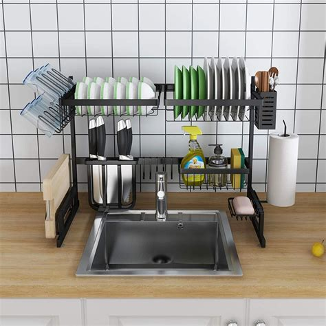 stainless steel  sink draining dish rack   sink dish rack dish racks sink