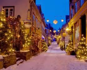 Quebec City Canada at Christmas