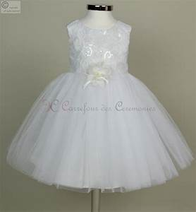 robe de ceremonie tati fillerobe mariage pour petite With robe de cérémonie bébé